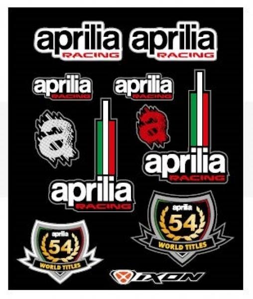 Aprilia Aufkleber Racing 2020